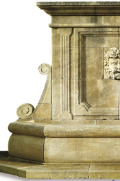 New Hand Carved Wall Stone Fountains